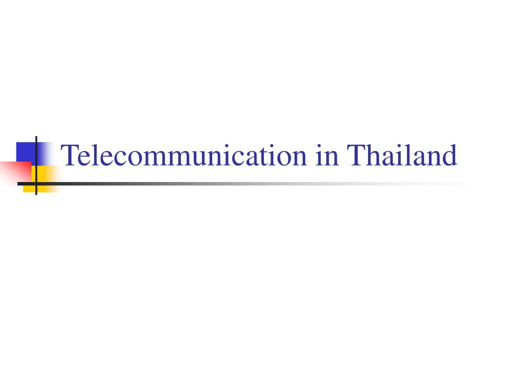Telecommunication in Thailand