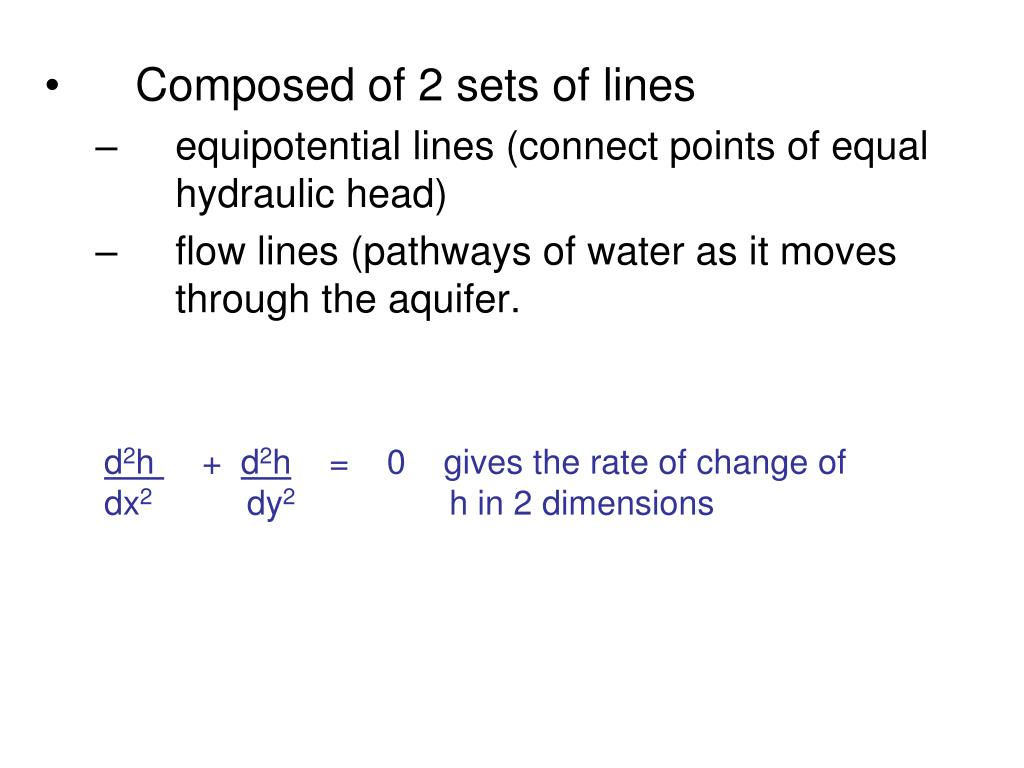 Composed of 2 sets of lines