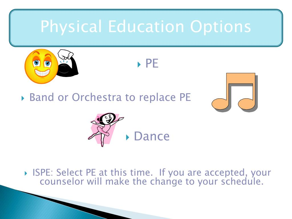 Physical Education Options