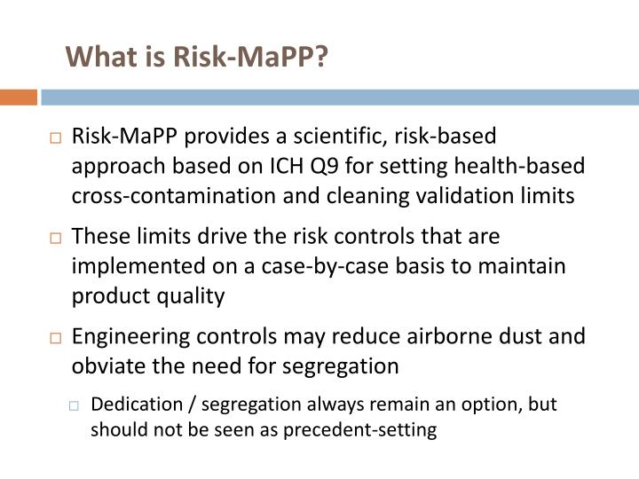 What is Risk-MaPP?