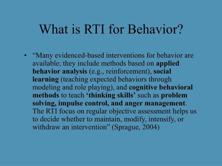 What is rti for behavior l.jpg