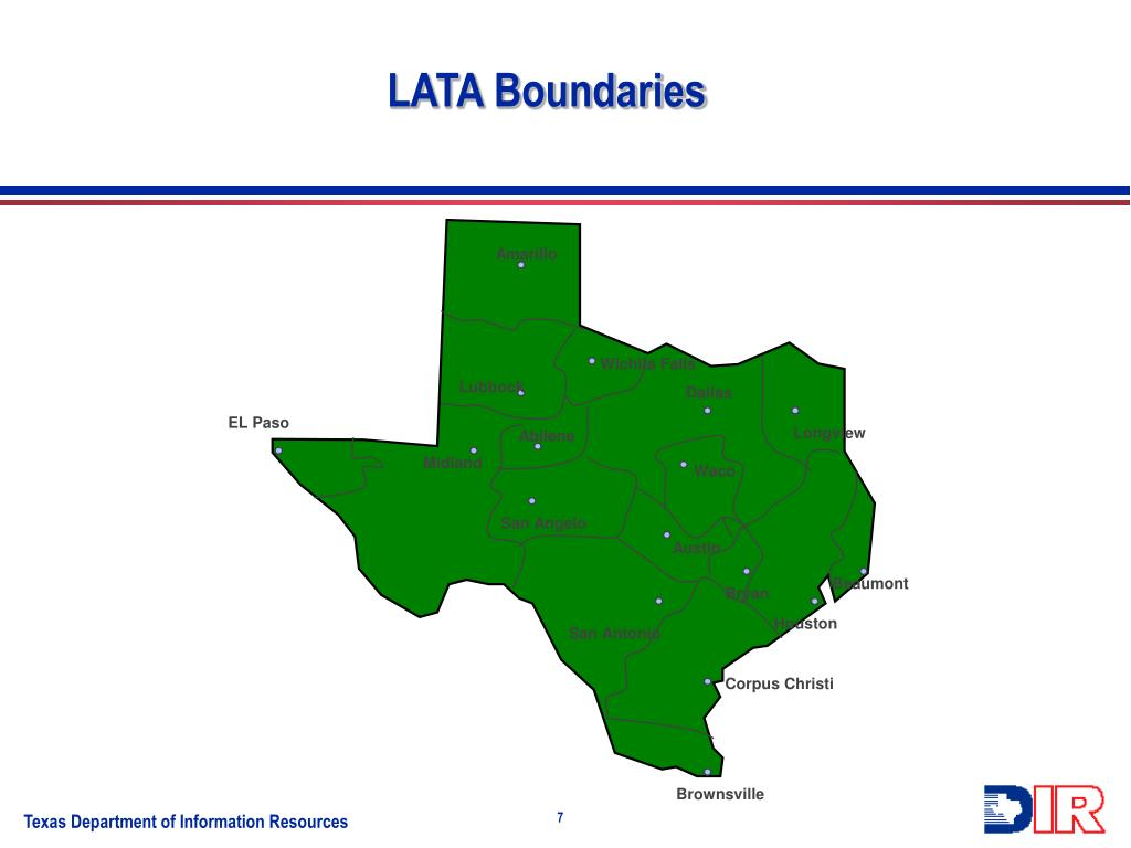 LATA Boundaries