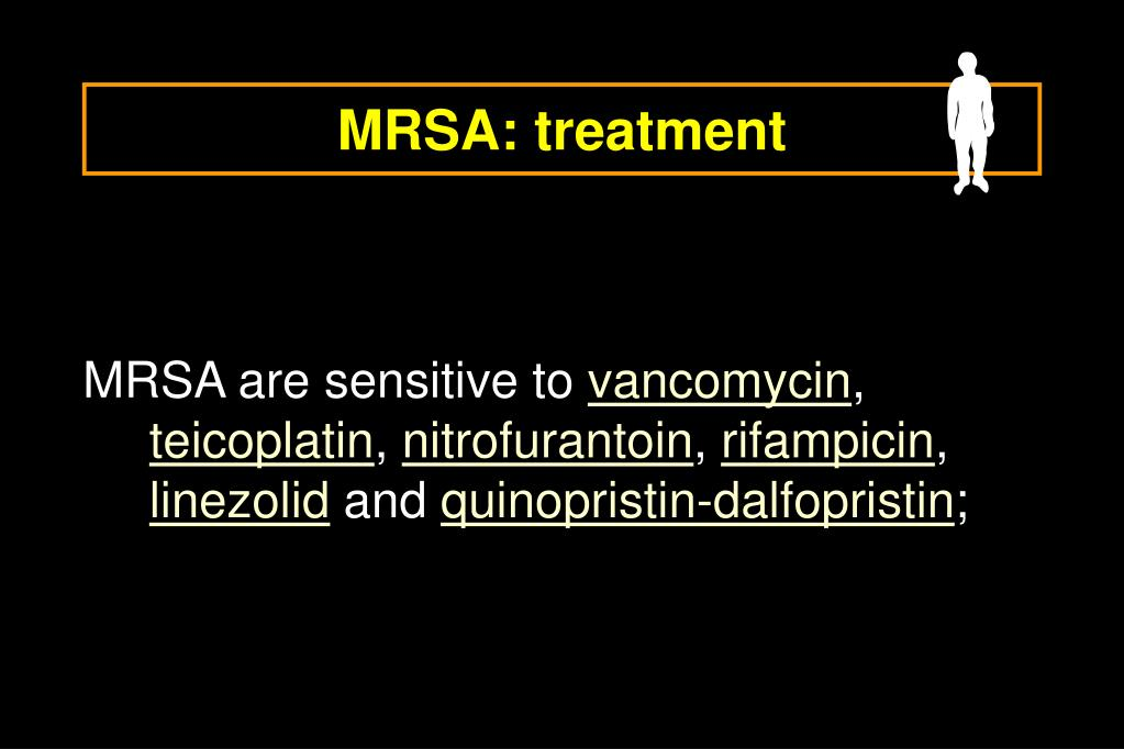 MRSA: treatment