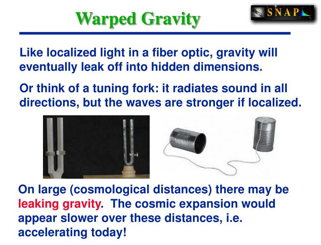 Warped Gravity