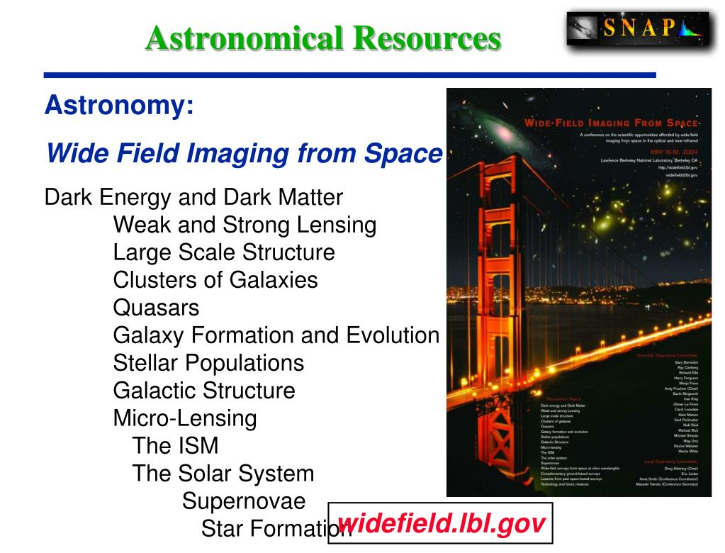 Astronomical Resources