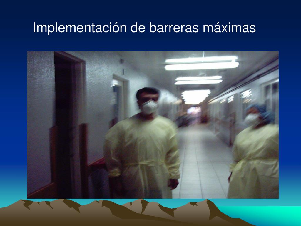 Implementación de barreras máximas
