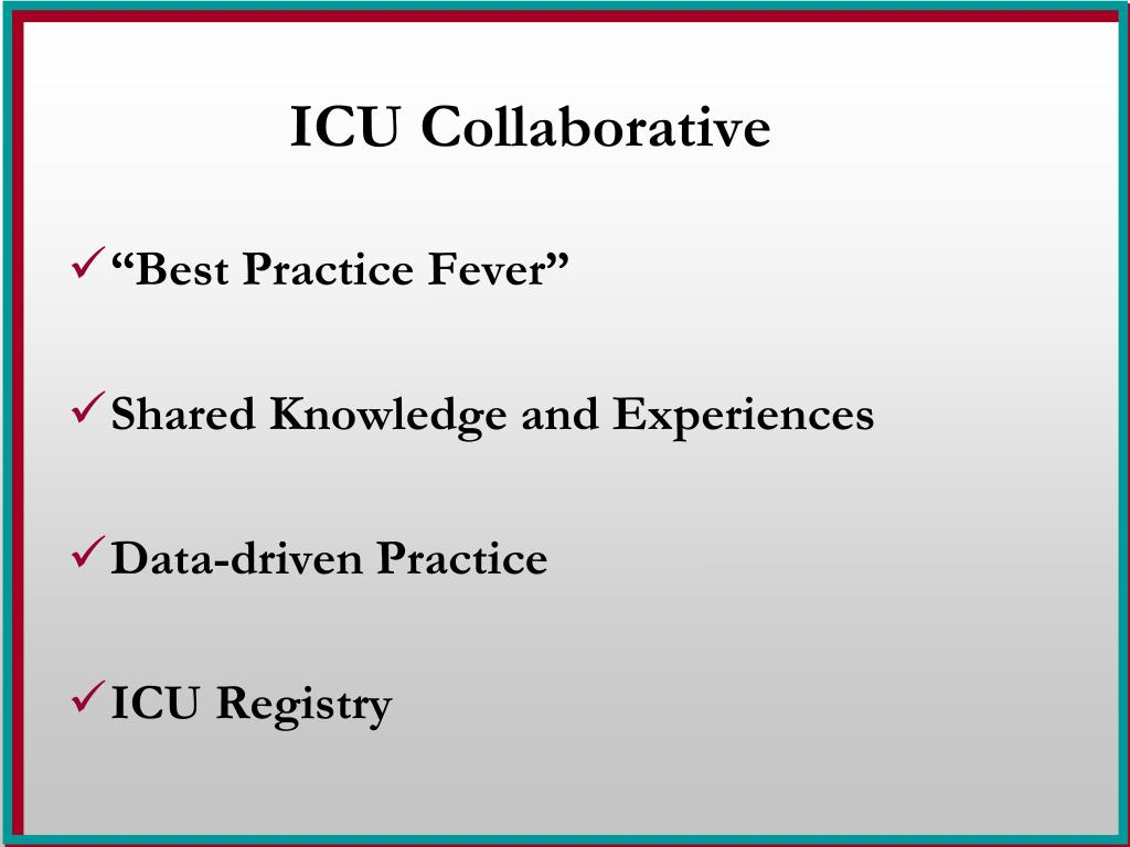 ICU Collaborative