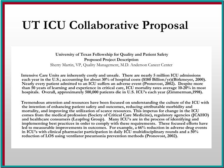 Ut icu collaborative proposal l.jpg
