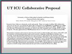ut icu collaborative proposal