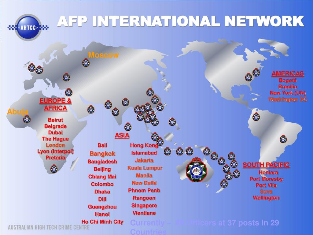 AFP INTERNATIONAL NETWORK