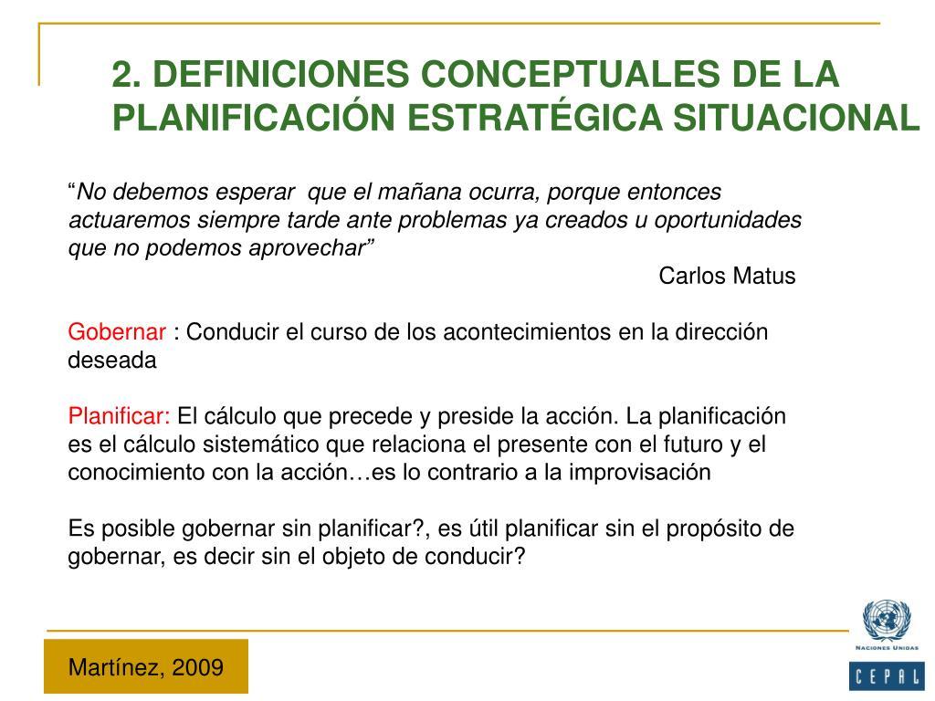 2. DEFINICIONES CONCEPTUALES DE LA