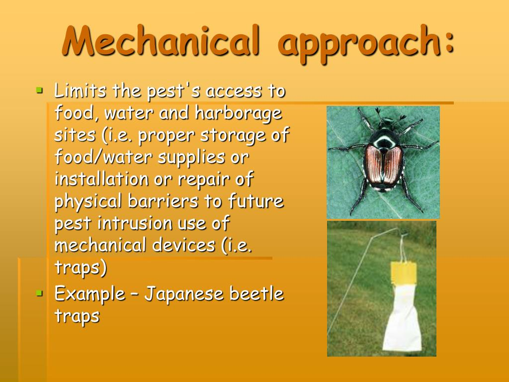 Mechanical approach: