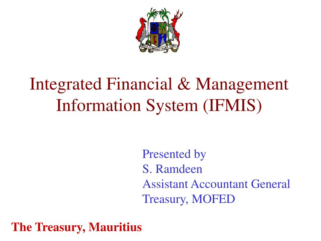 Integrated Financial & Management Information System (IFMIS)