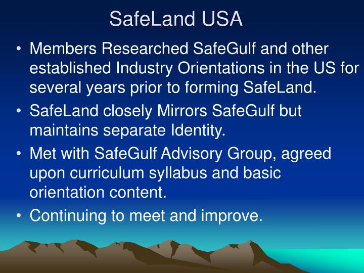 Safeland usa3