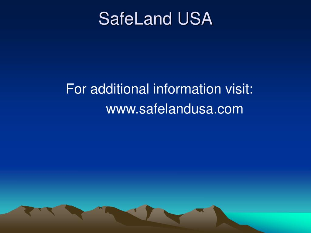 SafeLand USA