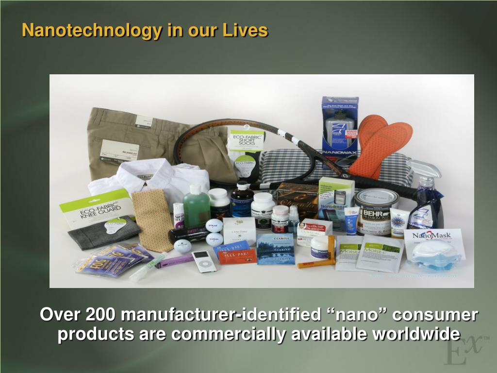 Nanotechnology in our Lives