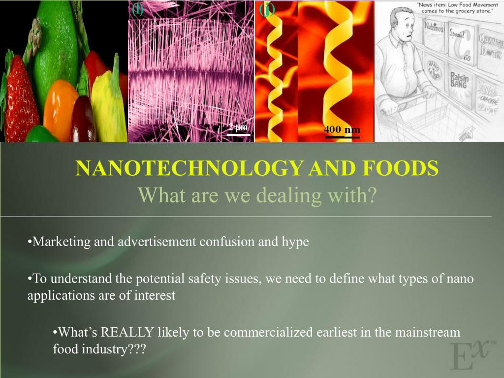 NANOTECHNOLOGY AND FOODS