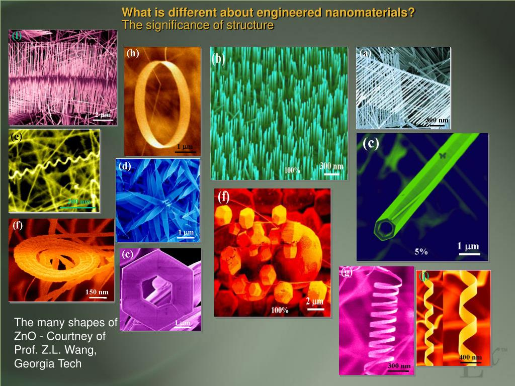 What is different about engineered nanomaterials?