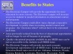 benefits to states