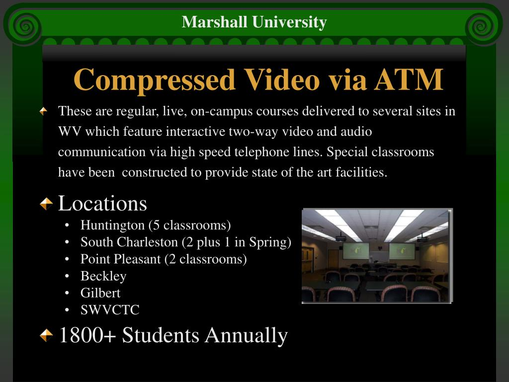 Compressed Video via ATM