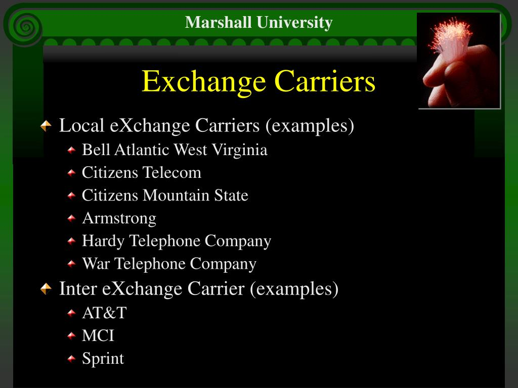 Exchange Carriers