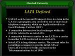 lata defined