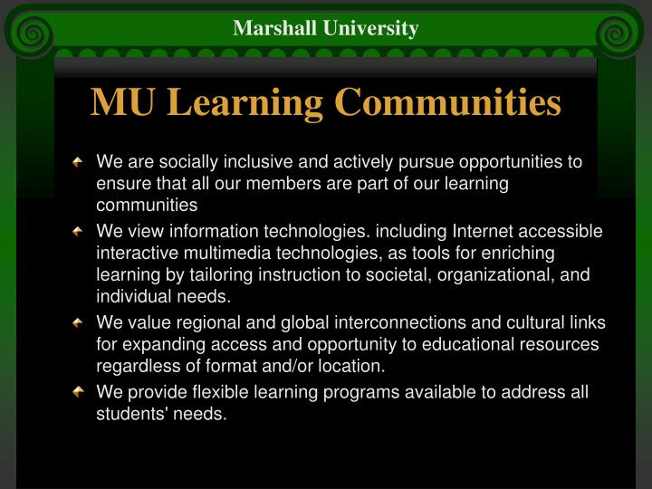 Mu learning communities l.jpg