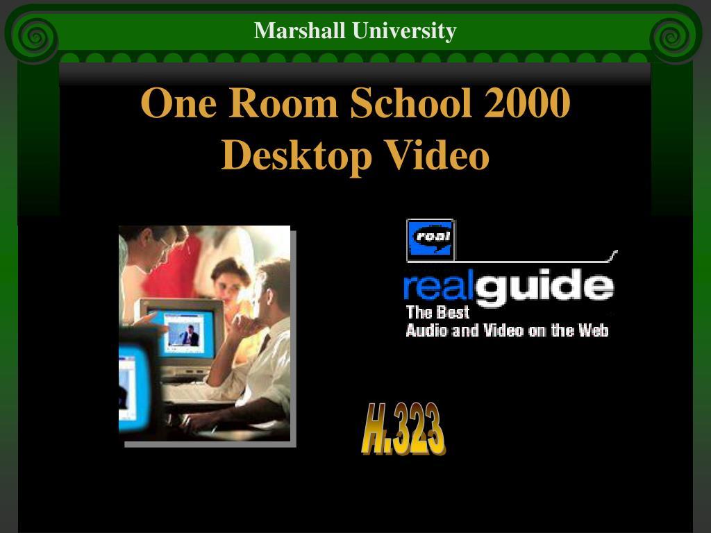 One Room School 2000