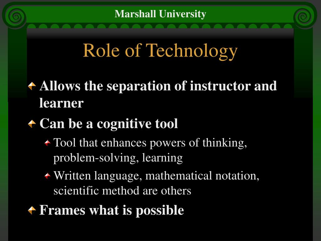 Role of Technology