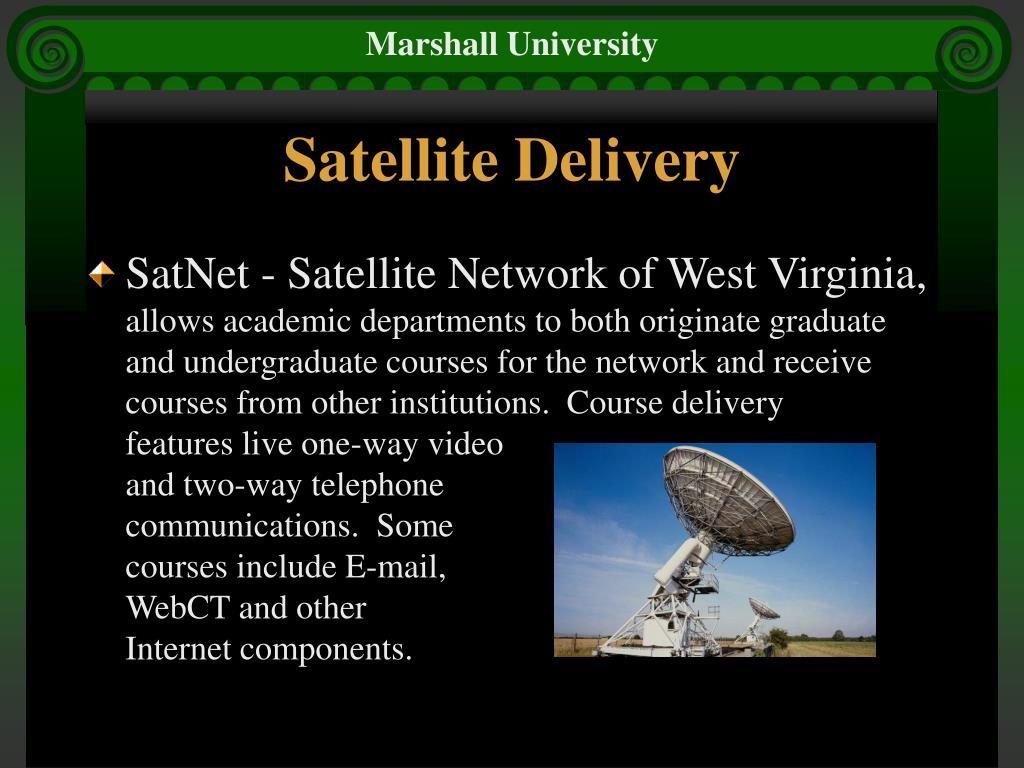 Satellite Delivery