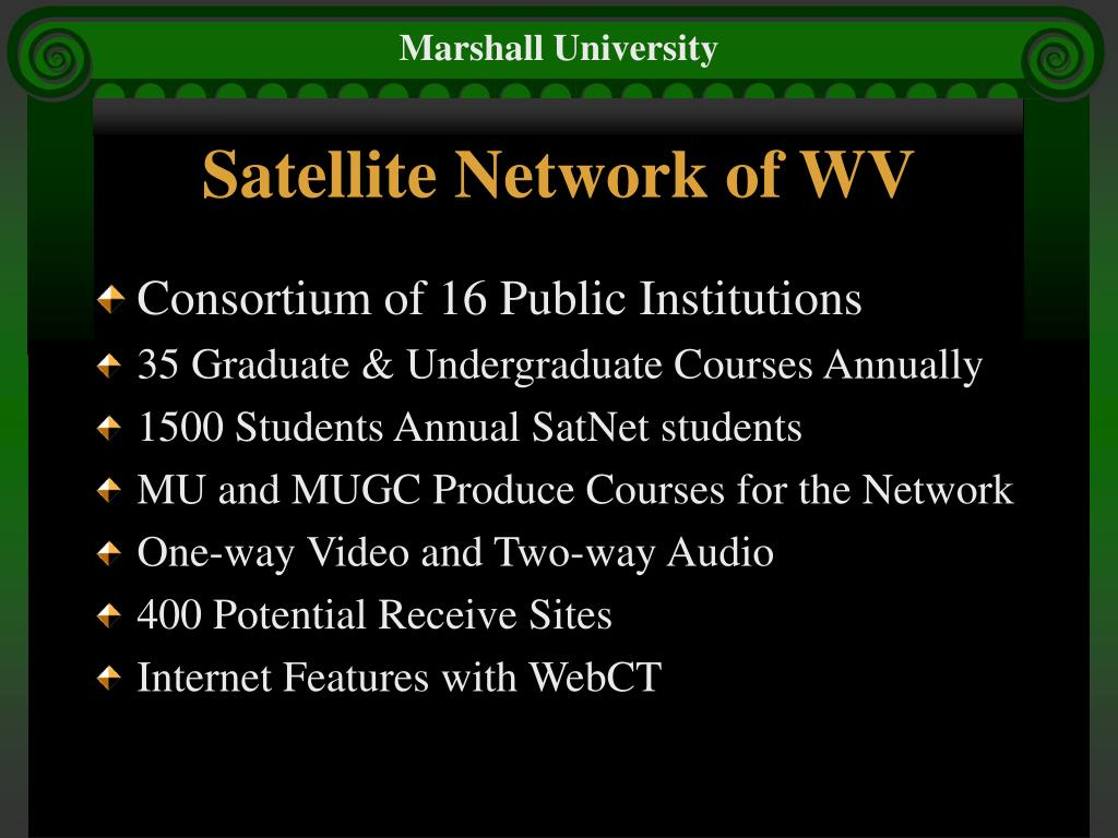 Satellite Network of WV
