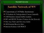 satellite network of wv