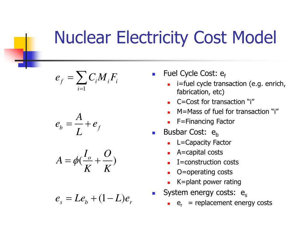 Nuclear Electricity Cost Model