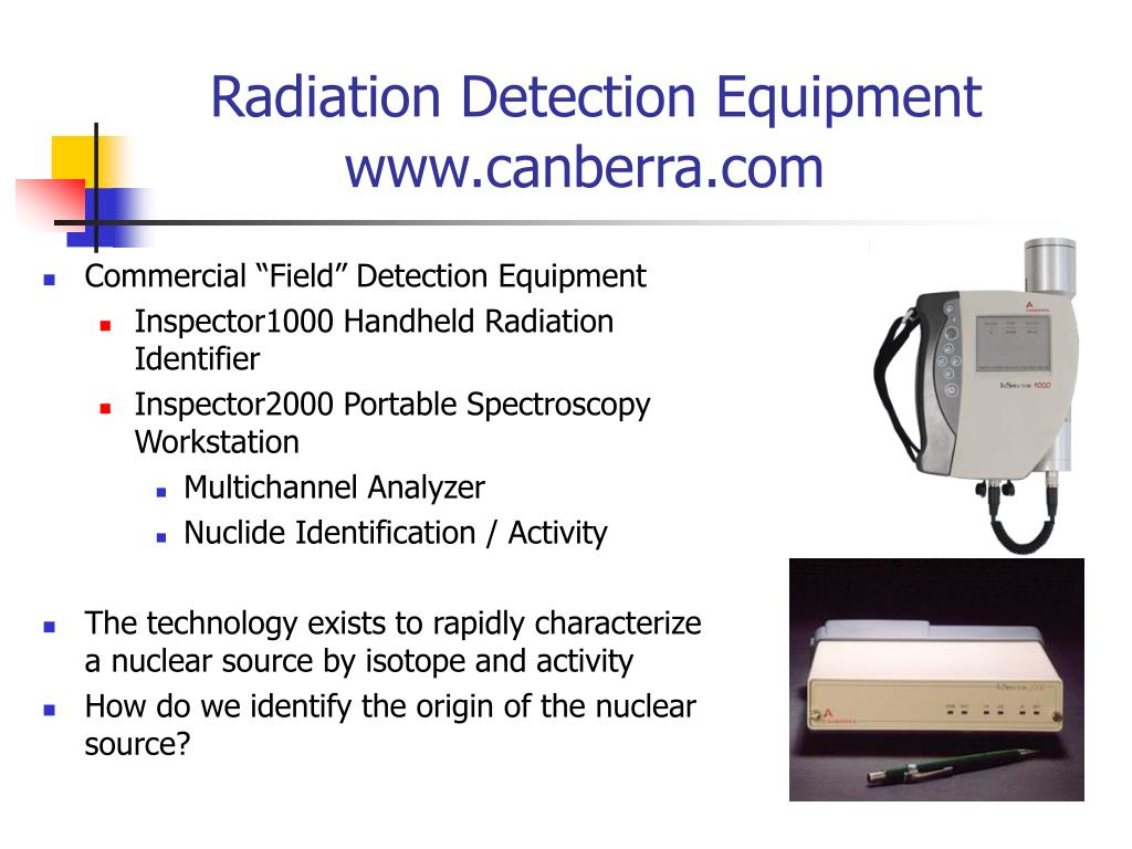 Radiation Detection Equipment