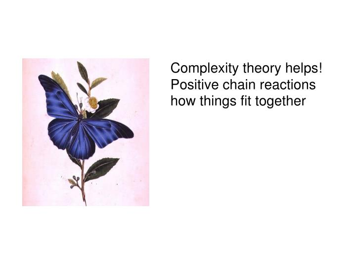 Complexity theory helps!