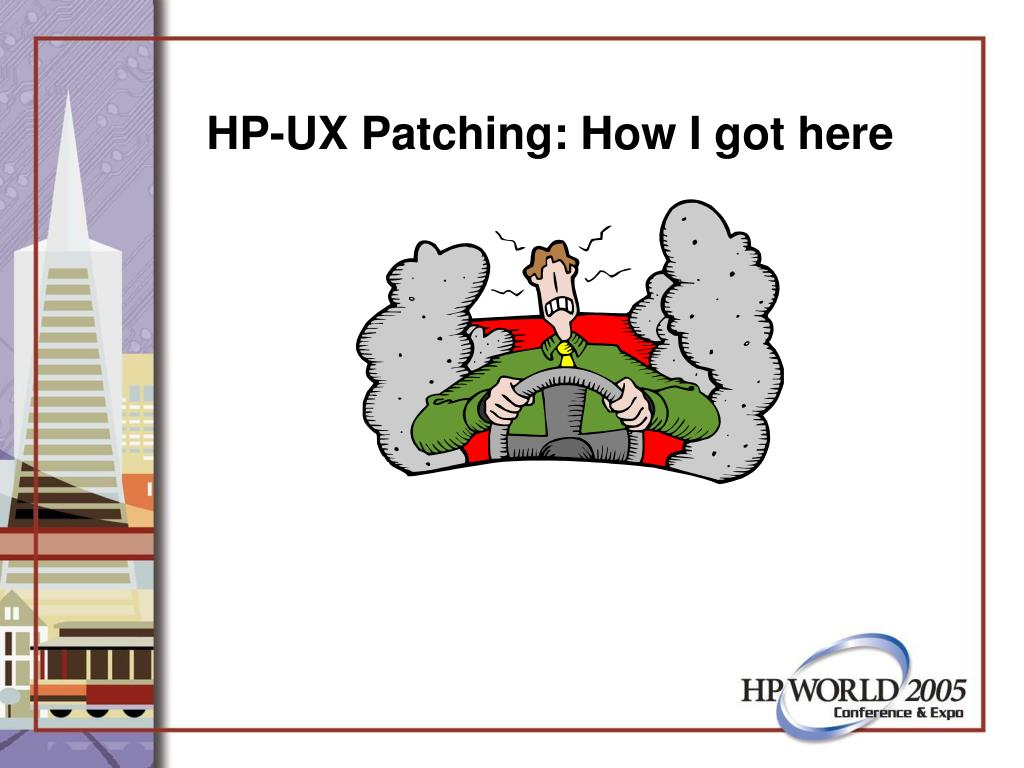 HP-UX Patching: How I got here