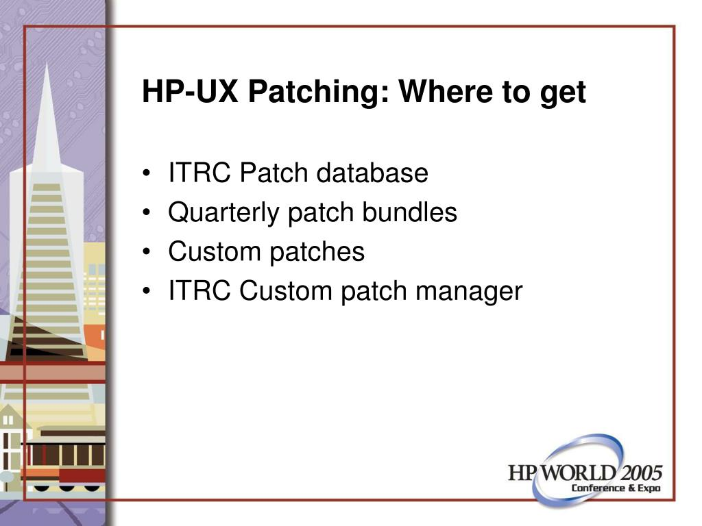 HP-UX Patching: Where to get
