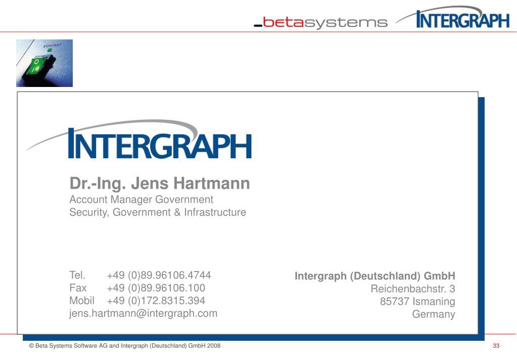Dr.-Ing. Jens Hartmann