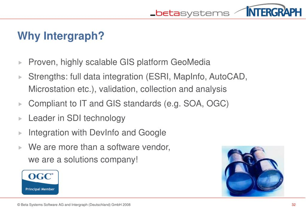 Why Intergraph?