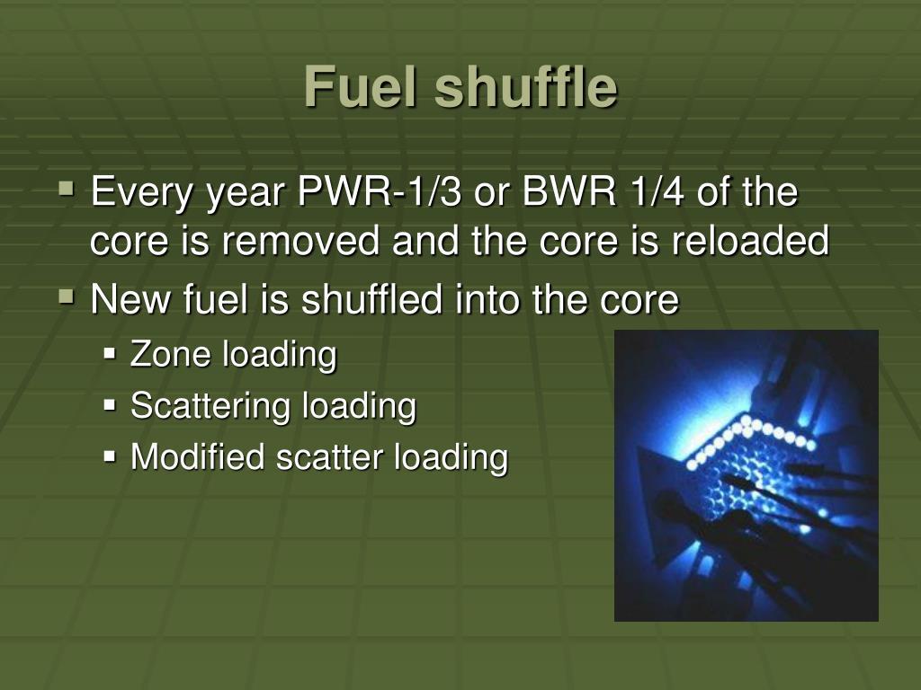 Fuel shuffle