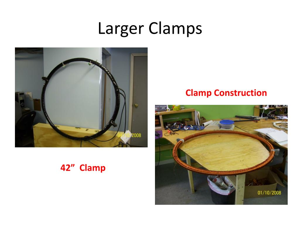 Larger Clamps