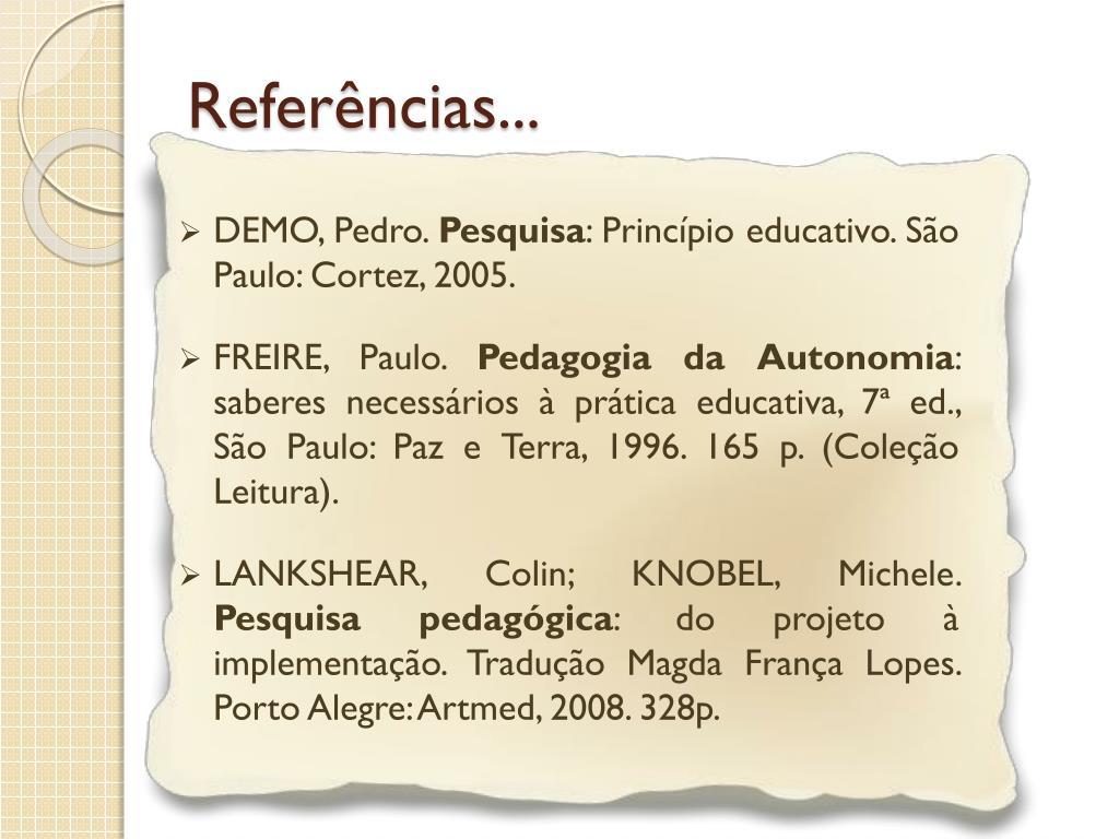 Referências...