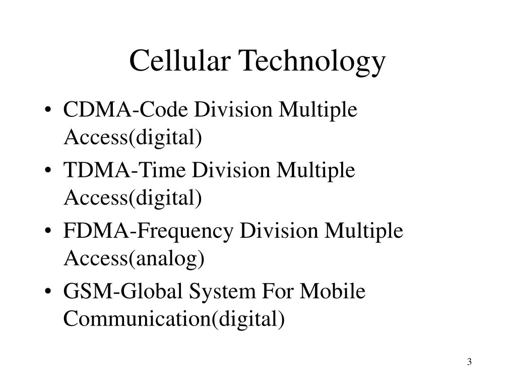 Cellular Technology