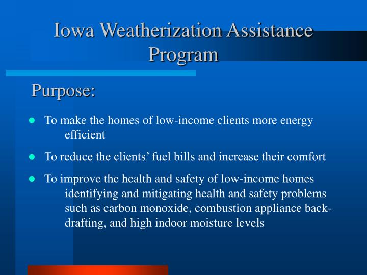 Iowa weatherization assistance program l.jpg