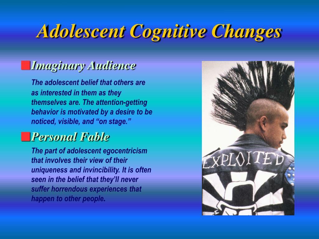 Adolescent Cognitive Changes