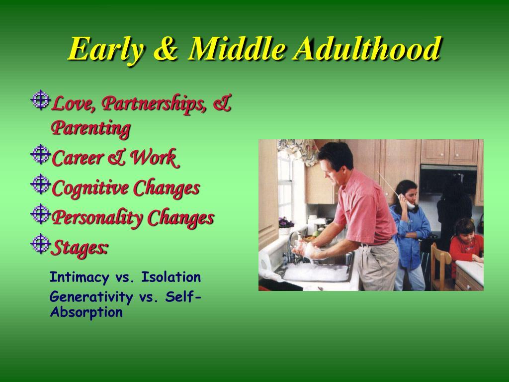Early & Middle Adulthood