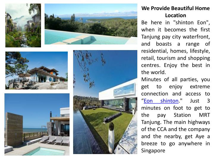 We Provide Beautiful Home Location
