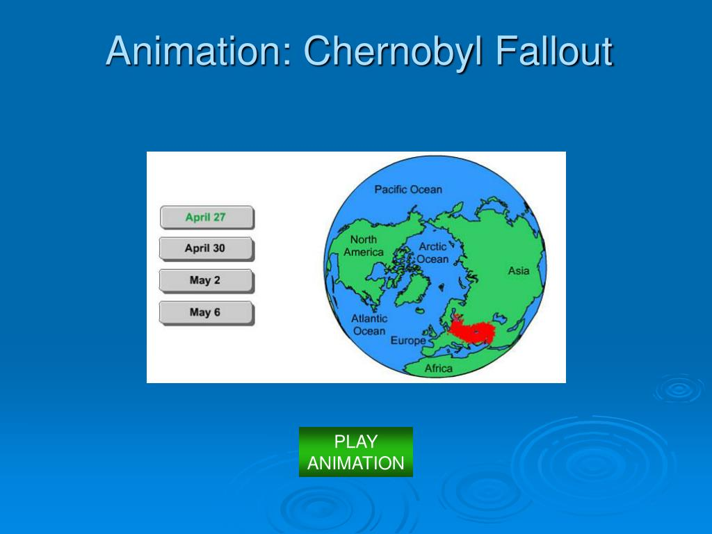 Animation: Chernobyl Fallout