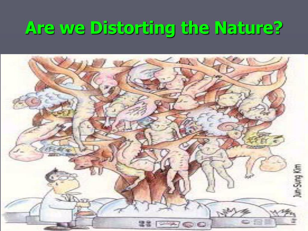 Are we Distorting the Nature?