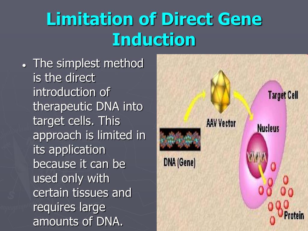 Limitation of Direct Gene Induction
